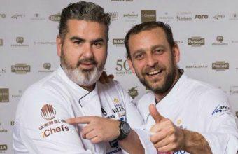 Los cocineros Mario Montero y Rubén Dorantes. Foto: Cedida por UltimAtun.
