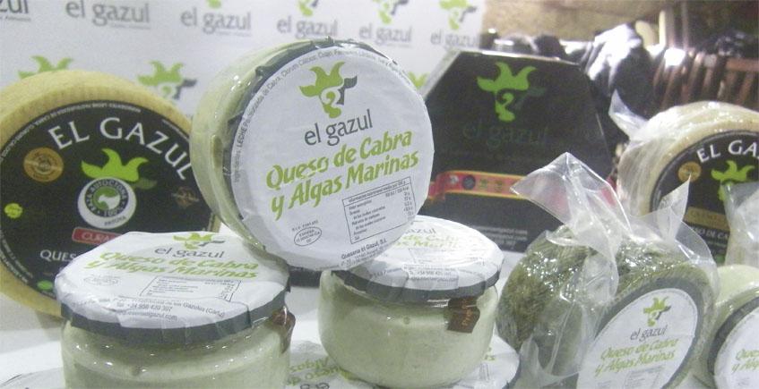 El Gazul presenta una original línea de cremas de queso con tagarninas o con algas