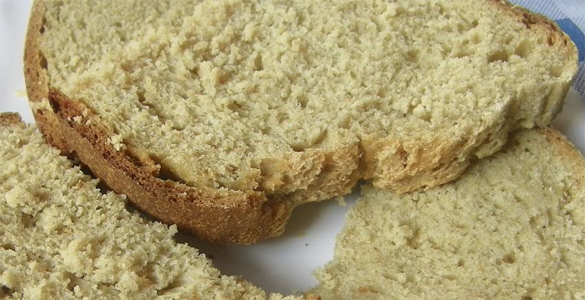 Rebanás de pan cateto. Foto: Cosasdecome