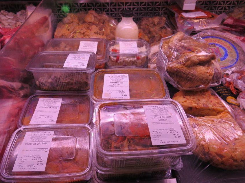Variedad de comida casera para llevar. Foto: CosasdeComé