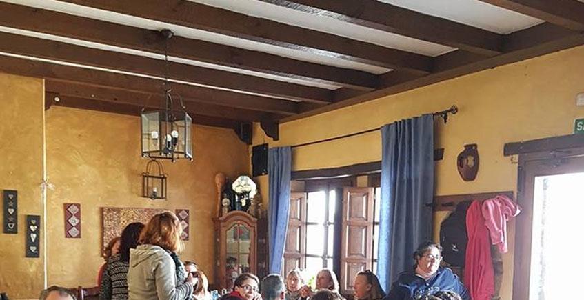 El comedor de El Ventorrillero. Foto: Cedida por el establecimiento.
