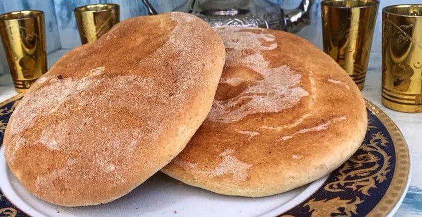 Pan al estilo marroquí. Foto: Cedida por La Medina