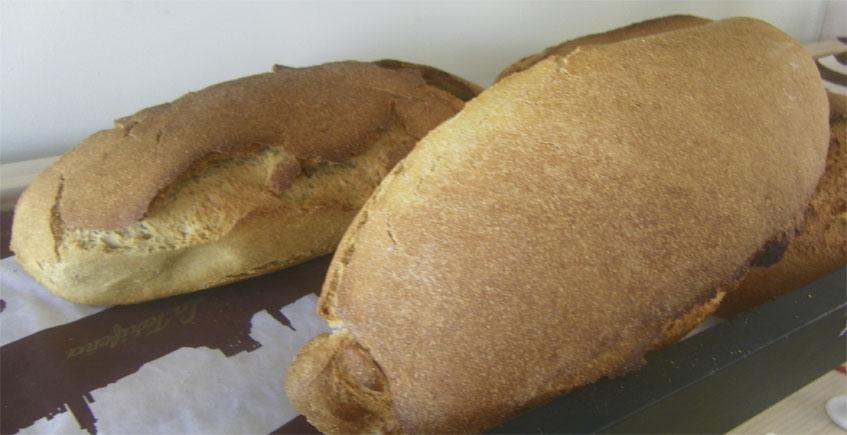 Piezas realizadas con varios tipos de harina de La Tarifeña. Foto: Cosasdecome