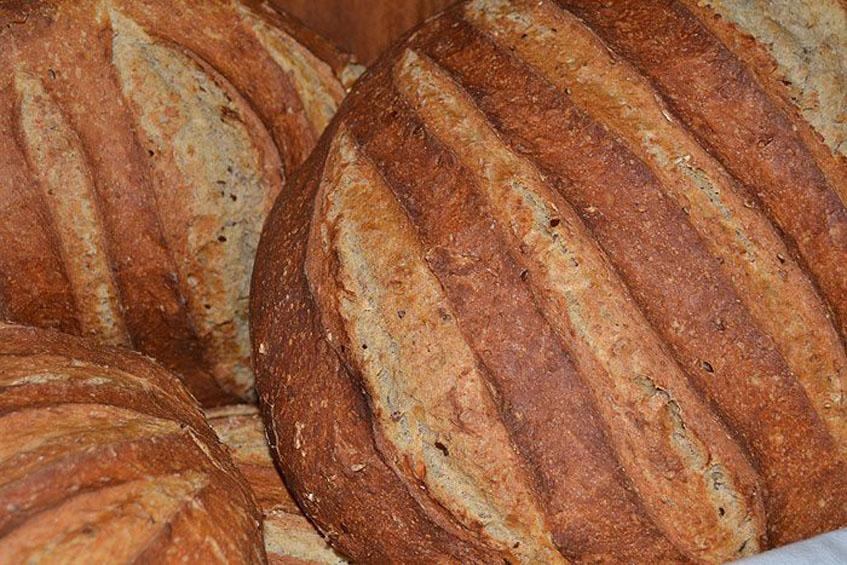 Uno de los panes que ofrece el obrador La Golosa de Grazalema. Foto: Cedida por el establecimiento