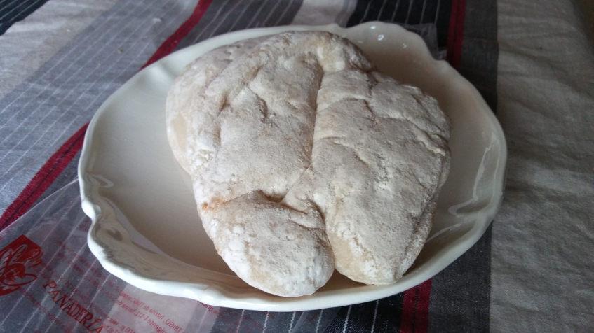 Mollete de la panadería Paco de Puerto Serrano. Foto: Cosasdecome