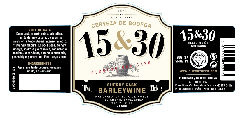 BARLEYWINE SHERRYCASK 15&30