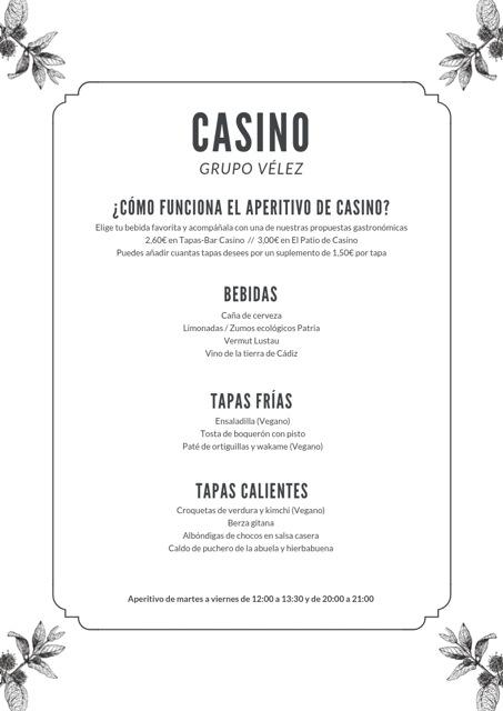 Diciembre 2018 - Aperitivo en español