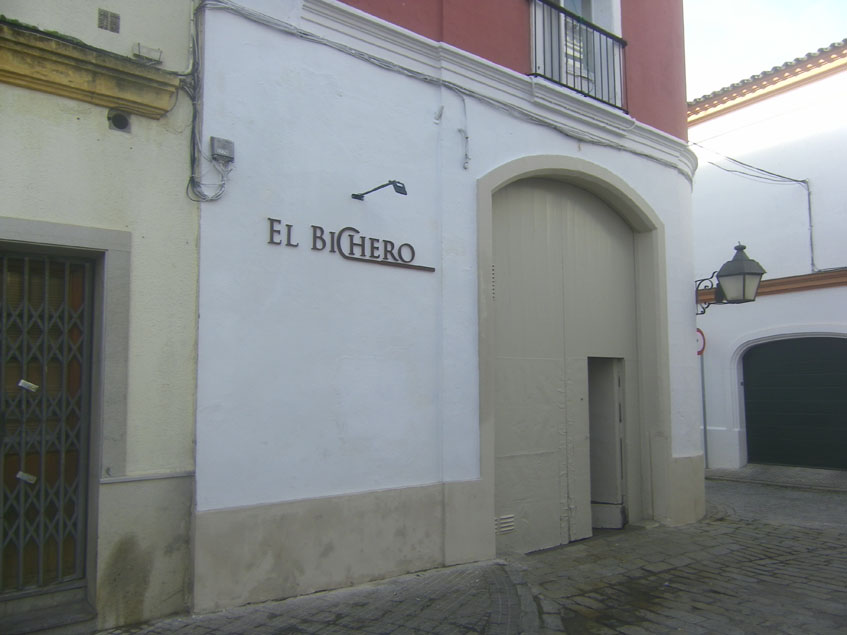 La entada al nuevo bichero de la plaza Juan Vargas. Foto: Cosasdecome