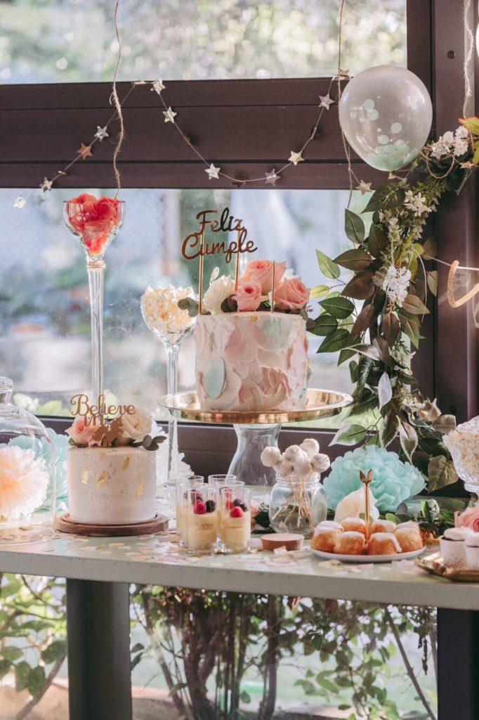 Mesa de dulces de Mamachicha. Foto cedida por el establecimiento