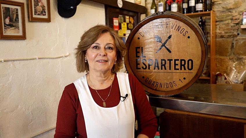 Maribel Braza Robert, la autora de esta receta. Foto: Kiko Sánchez