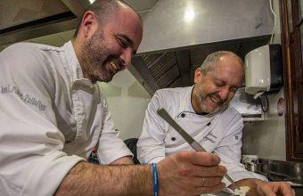 14 de febrero. Sanlúcar. Cena a Cuatro Manos entre los cocineros de Taberna Argüeso y El Espejo