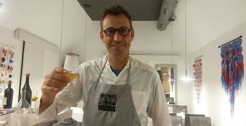 El cocinero Leon Griffioen de Código de Barra