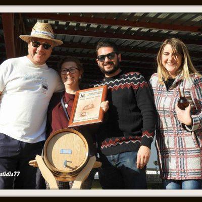 El ganador a la categoría de mejor mosto. Foto del Ayuntamiento.