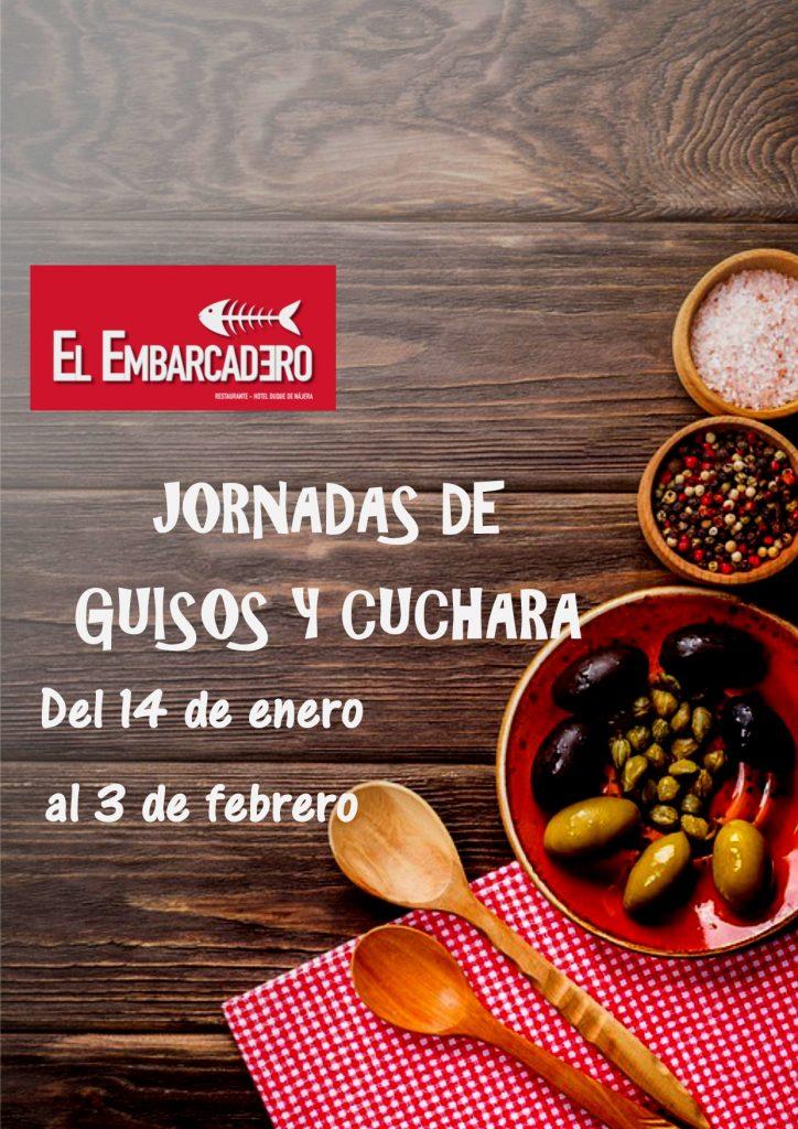 Cartel Jornada Guisos y Cuchara Embarcadero para publi fb 2semana