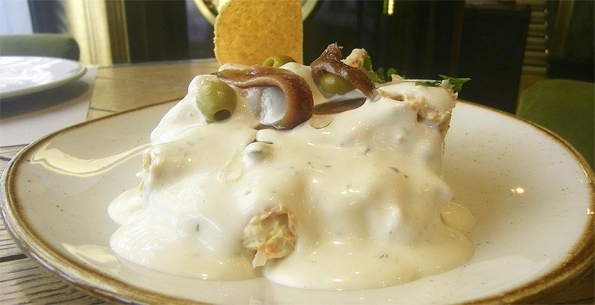 La mayonesa de los diez ingredientes