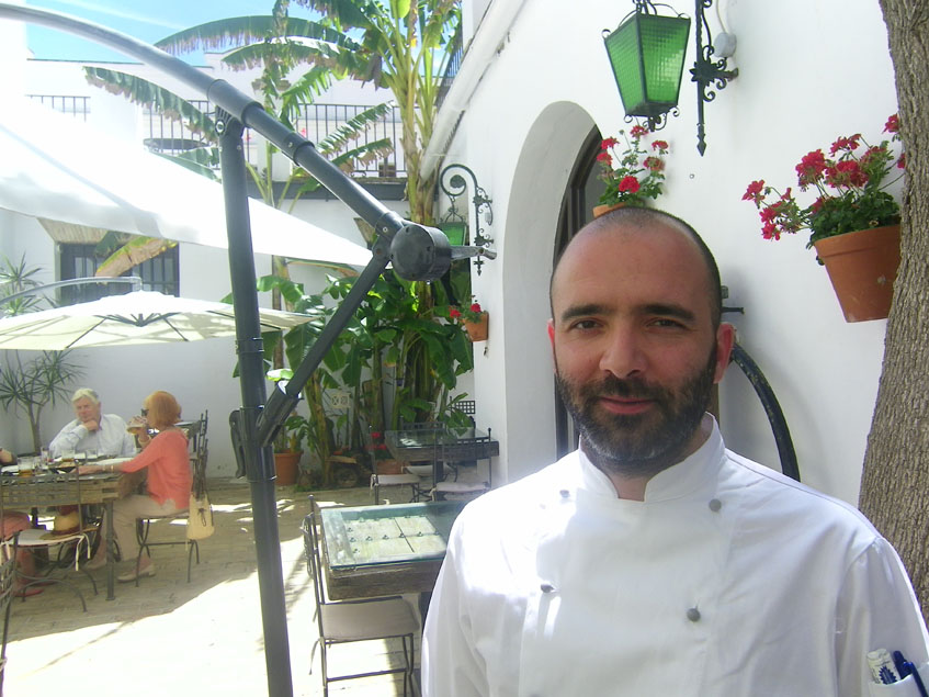 """José Luis Fernández Tallafigo, el """"cocinero de Los Navazos"""". Foto: Cosasdecome"""