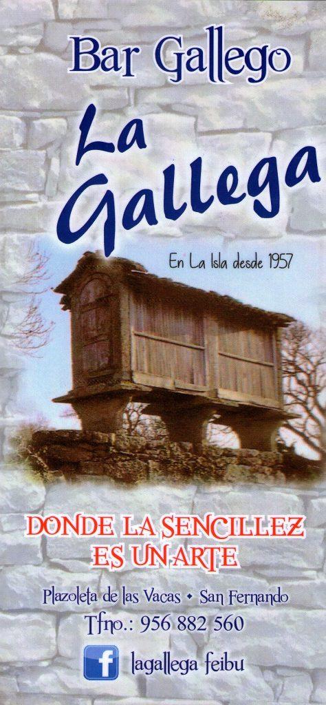 La Gallega 1 ENE 19 0K