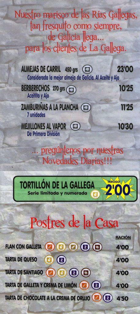 La Gallega 4 ENE 19 847
