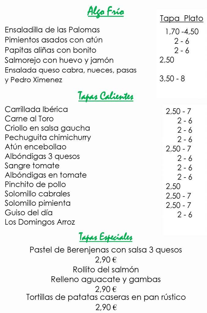 Menú Take Away-3