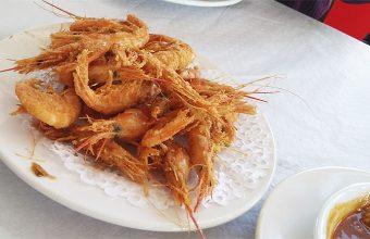 Las quisquillas fritas de La Corchuela Casa Muriel