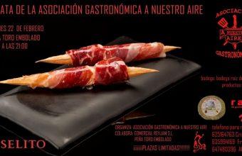 22 de febrero. Los Barrios. Cata de la Asociación Gastronómica A Nuestro Aire