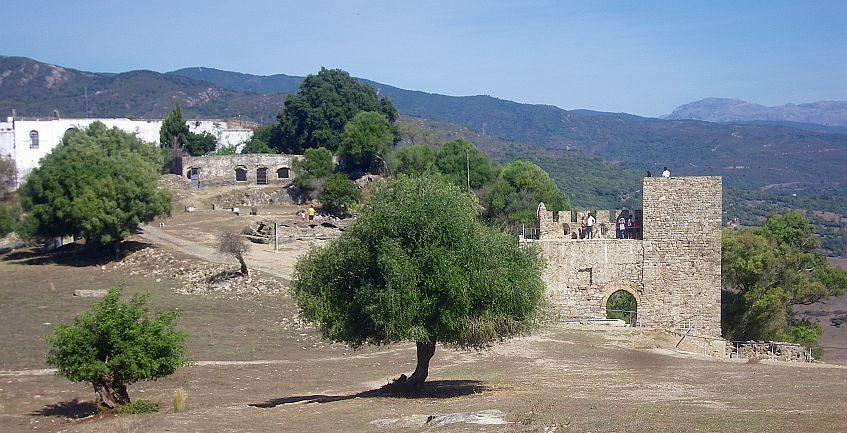 Jimena, paisaje con castillo