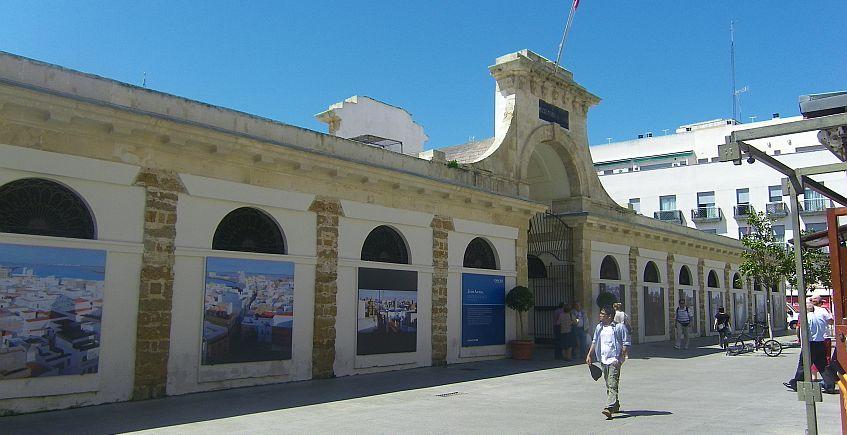 El Mercado de Abastos de Cádiz. Foto: Cosasdecomé.