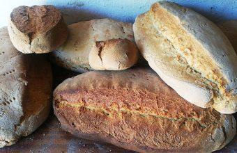 Los diferentes panes de la venta Mesa Jardín. Foto: Cedida por el establecimiento.