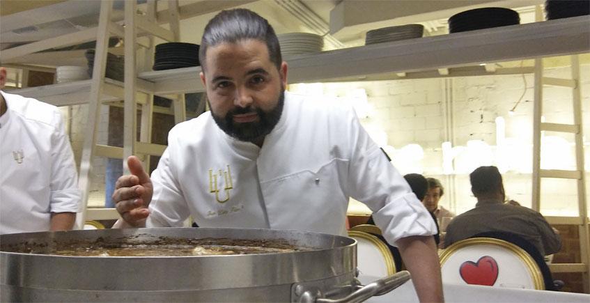 El cocinero Juan Luis Fernández. Foto: Cosasdecome