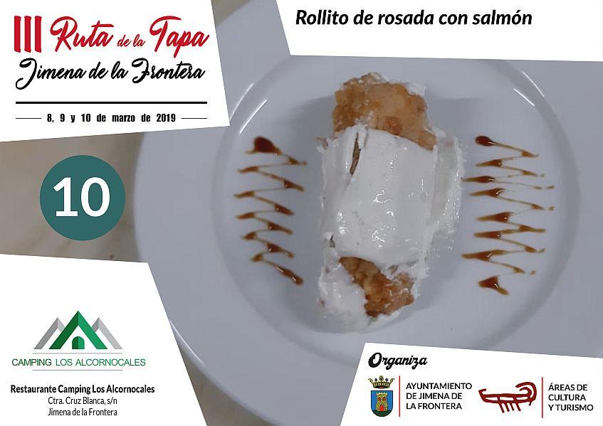 Tapa 10 Restaurante Camping Los Alcornocales