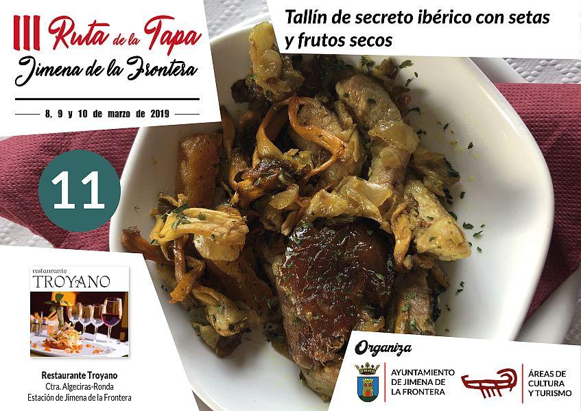 Tapa 11 Restaurante Troyano