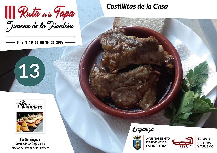 Tapa 13 Bar Domínguez