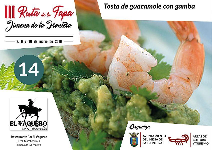 Tapa 14 Restaurante Bar El Vaquero