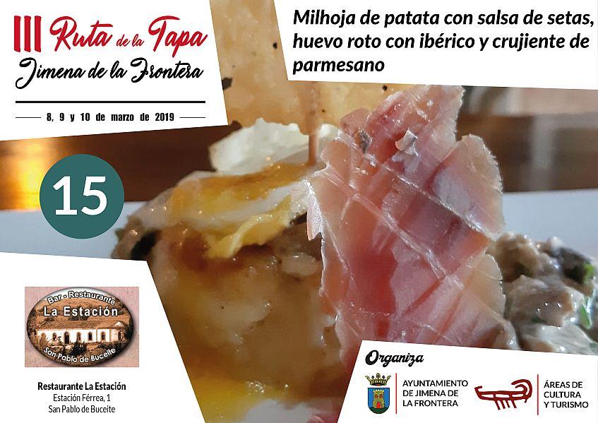 Tapa 15 Restaurante La Estación