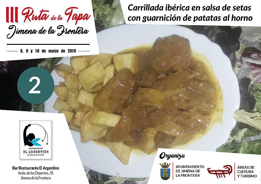 Tapa 2 Bar Restaurante El Argentino