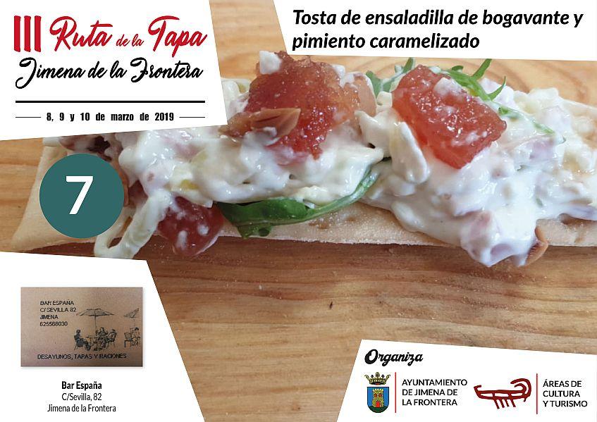 Tapa 7 Bar España