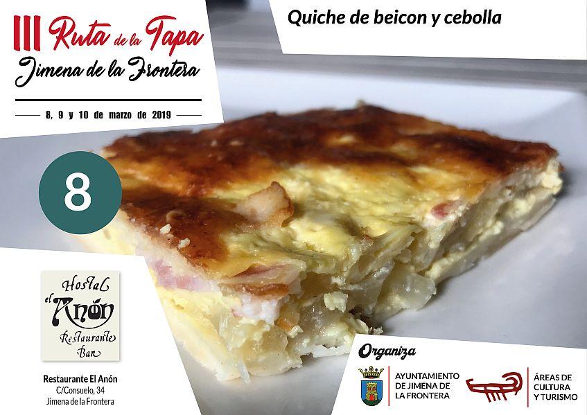 Tapa 8 Restaurante El Anón
