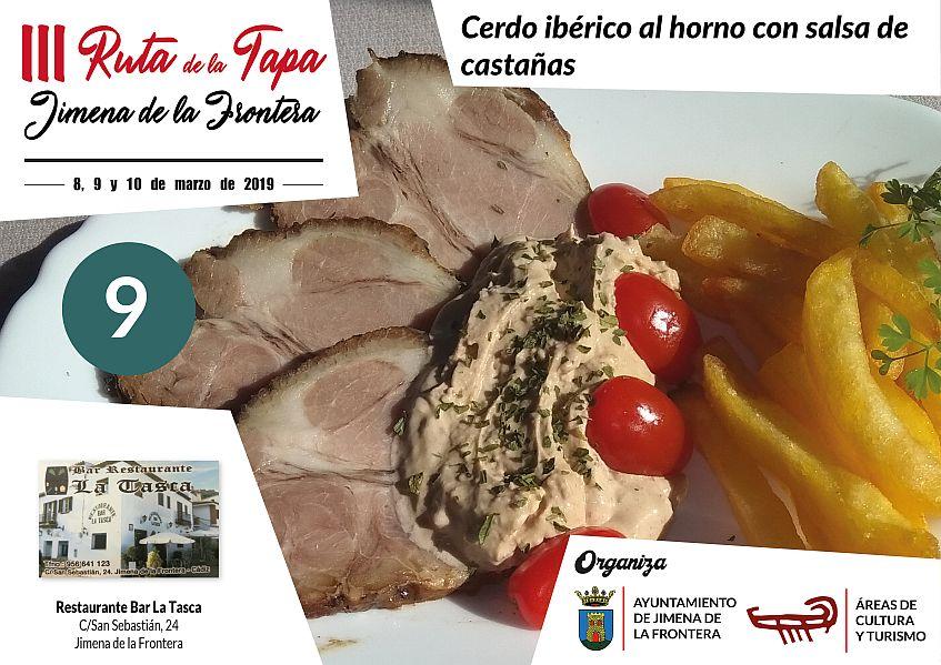 Tapa 9 Bar Restaurante La Tasca