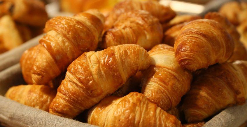 Los croasans de la pastelería La Canastera