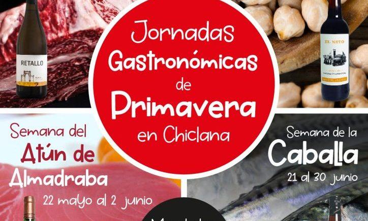Retinto, garbanzos, atún y caballa para una primavera gastronómica en Chiclana