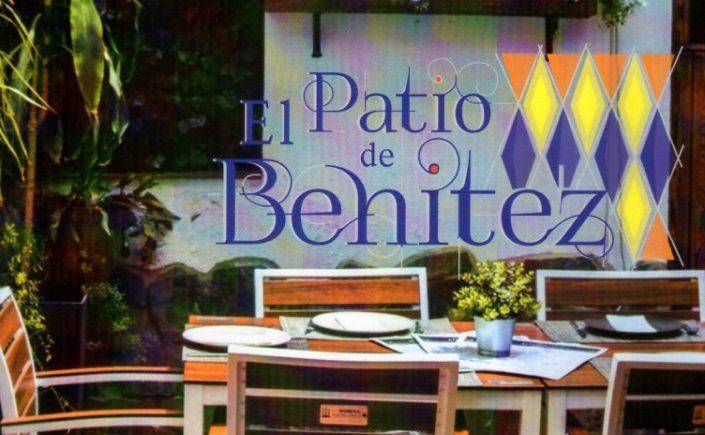 La carta del Patio de Benítez de San Fernando