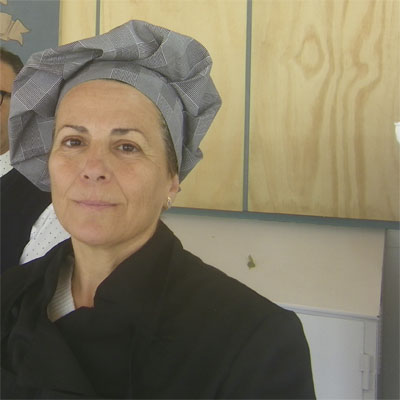 La cocinera Beatriz Aragón. Foto: Cosasdecome