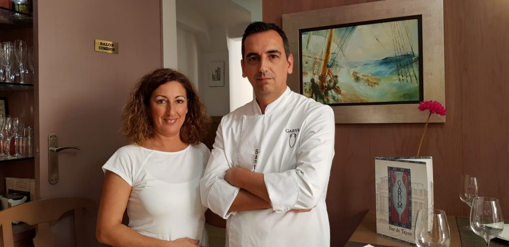 Carmen y Santiago Braza. Foto cedida por el establecimiento.