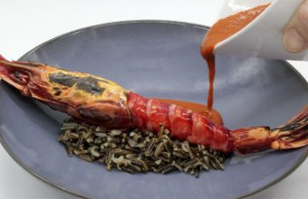 El carabinero con suquet de Variopinto. Foto: Cedida por el establecimiento