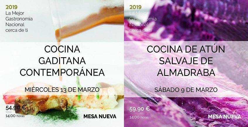 La cocina gaditana innovadora y el atún, en Alicante