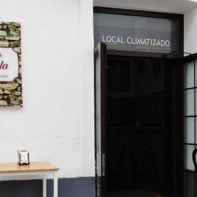 El Patio La Manuela, el nuevo establecimiento de Antonio Maña y Manuela Bernal en la calle Mina. Foto: Cedida por el establecimiento