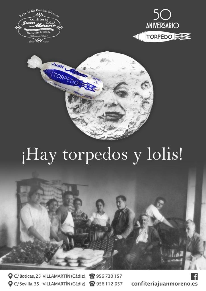 El cartel del aniversario juega con la emblemática imagen de la luna de Meliés