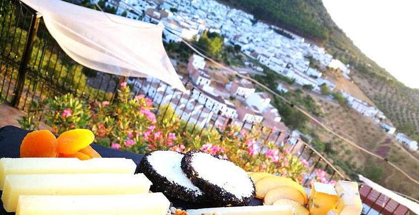 Cocina de autor asomada al balcón de la Sierra