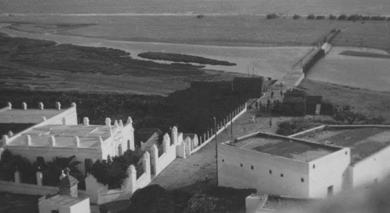 La zona, en los años 40.