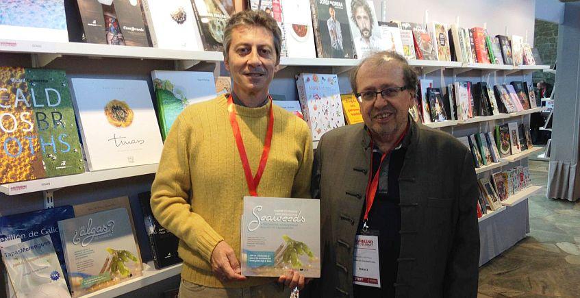 El libro '¿Las algas se comen?', en la cumbre mundial de la literatura gastronómica